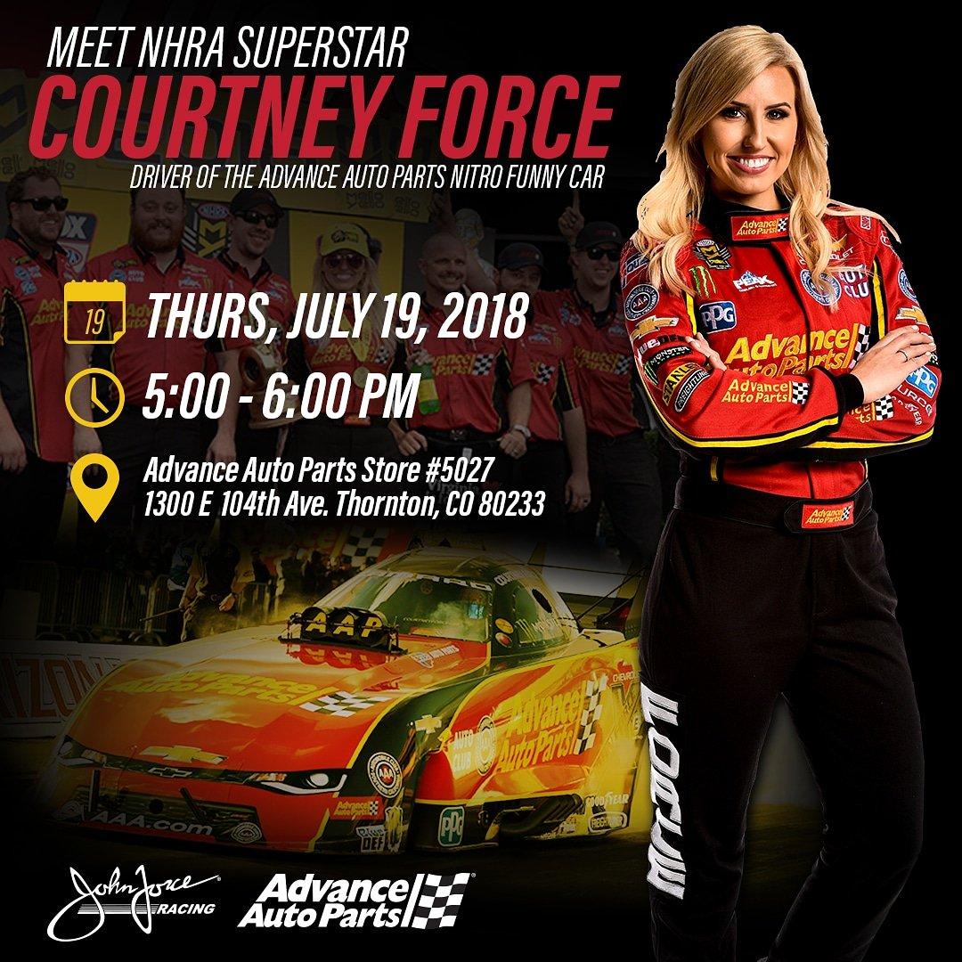 John Force Racing On Twitter Colorado Nhra Fans Come Meet