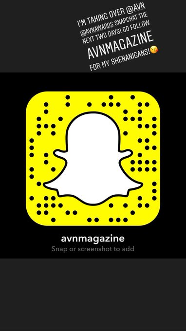 Check out my snaps from my @AVNMediaNetwork #snapchattakeover today! 💋#Snapchat AVNMagazine https://t