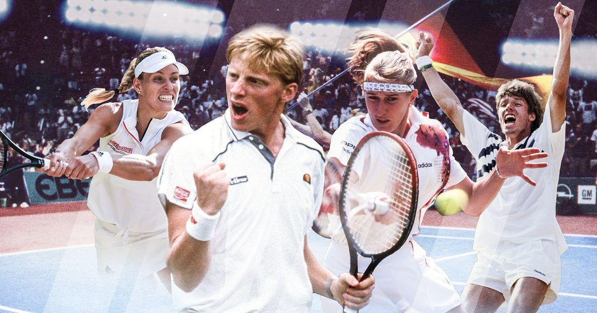 Die besten deutschen Tennis-Spieler der Open Era mit @AngeliqueKerber, #Graf, @TheBorisBecker https://t.co/mBLhZOYFn0