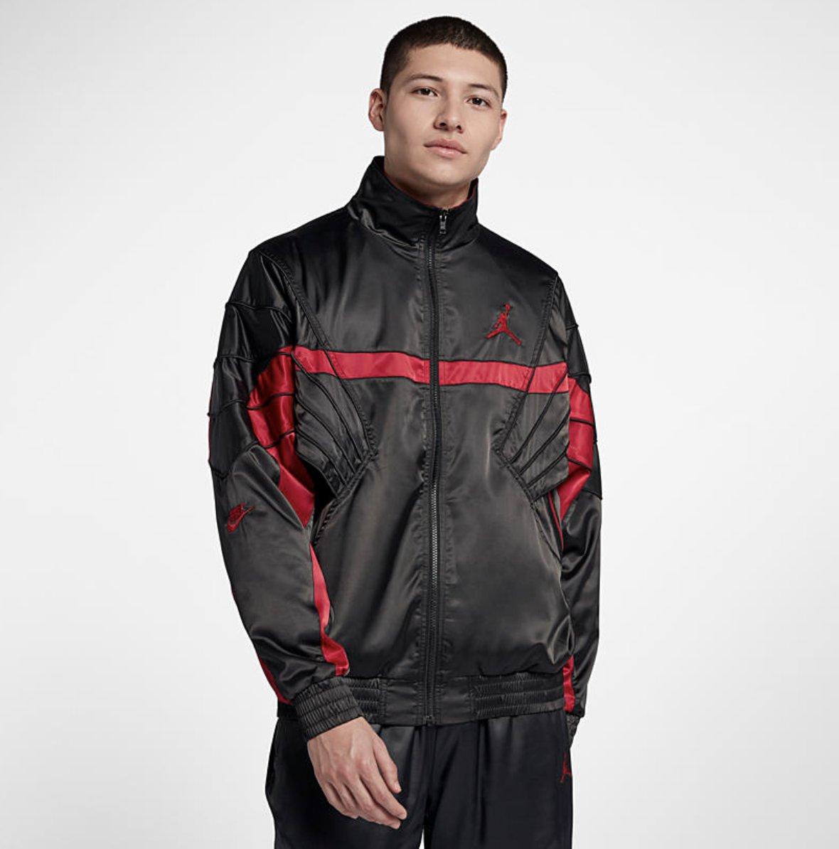 34d96d986325 Jordan Sportswear AJ5  Satin  Jacket dropped via Nike US     http   bit.ly 2urMETc pic.twitter.com qB3sB8eemv