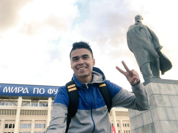 📍 Luzhniki Stadium 🇷🇺 40 días inolvidables. Quizá los mejores de mi vida. #Rusia2018 me dejó en shock. 🗞 Ya quiero llegar a mi lugarcito en la redacción de @record_mexico y ponerme a soñar. Tengo HAMBRE. 💪 Photo