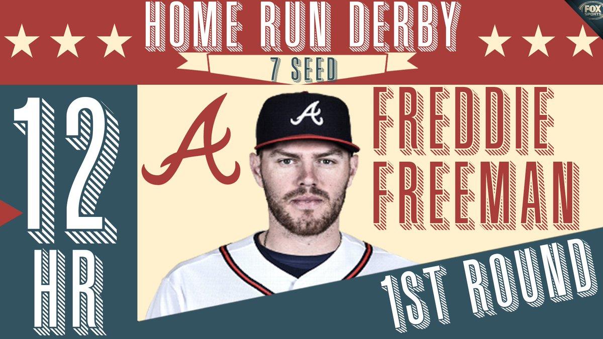 12 for Freddie!  Next up: Bryce Harper.