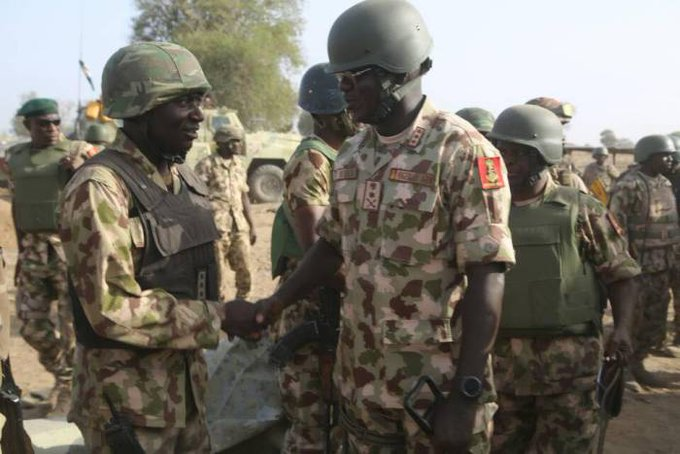 General Buratai heads for Maiduguri to visit locations of attack via @todayng Foto