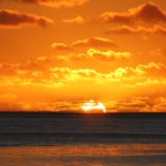 Image for the Tweet beginning: #Sunset from #BoraBora Hope you