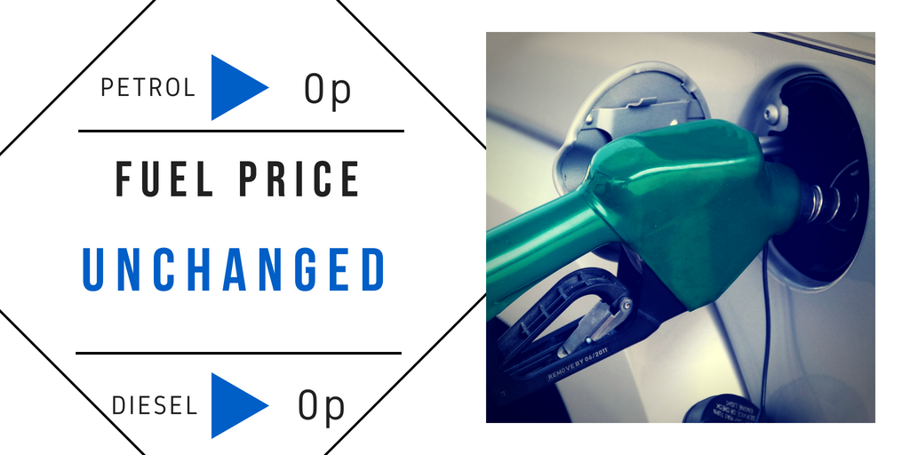Fuel Price Unchanged | Petrol at Rs 84.22/litre; diesel at Rs 72.65/litre in Mumbai