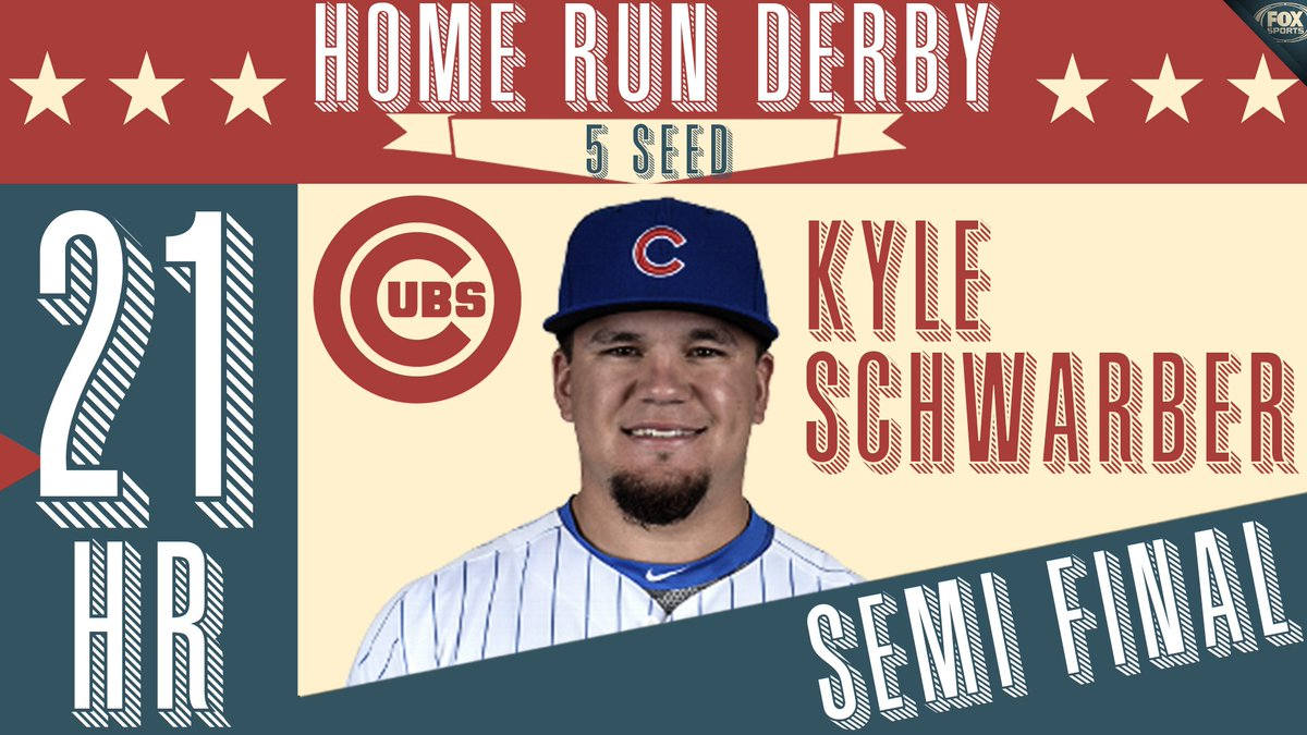 Schwarber! AT THE BUZZER!  The @Cubs star is on to the Final!