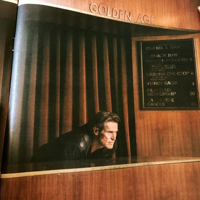 Happy birthday Willem Dafoe! to the time he visited our superbly restored Art Deco cinema (Image: Nic Walker)