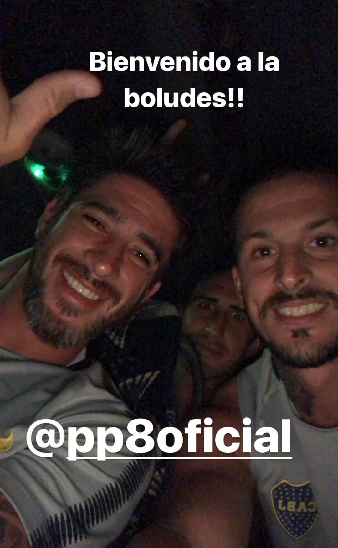���� @PipaBenedetto le dió la bienvenida a @pabloperez_08 en Instagram. https://t.co/C2akEt4cbe