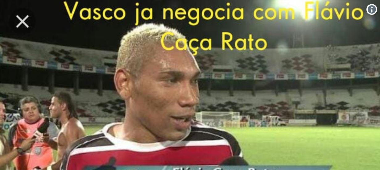 Rato invade campo durante Vasco x Bahia e rende zoações na internet https://t.co/lFFk2AZiax https://t.co/isyWcwxsdQ