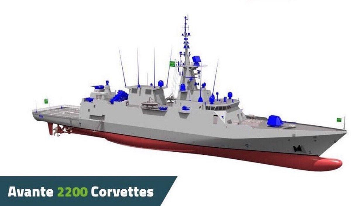 """""""السعودية للصناعات العسكرية SAMI """" تشارك شركة Navantia الاسبانيه في صناعه 5 سفن Avante 2200 DiRdoSsU8AAlVU2"""