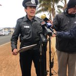 Image for the Tweet beginning: Police are addressing the media: