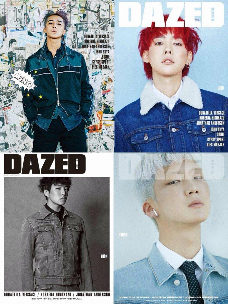 WINNER individual covers for Dazed Korea (Jan18 issue)  BLACKPINK individual covers for Cosmopolitan (Aug18 issue)  <br>http://pic.twitter.com/WsZ2NMM3HB