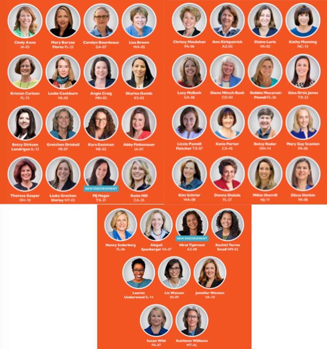 Here's a list of the @emilyslist endorsed candidates who are running for the House on November 8th. I'd like Americans running our country instead of Russians. <br>http://pic.twitter.com/zZi88TM77k