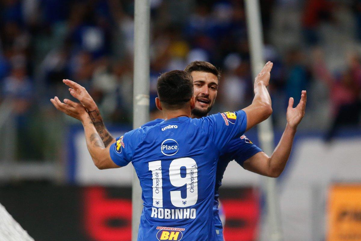 Jogadores lamentam tropeço, mas comemoram a classificação na Copa do Brasil #Cruzeiro #CopaBR https://t.co/frPbgD6Dhe
