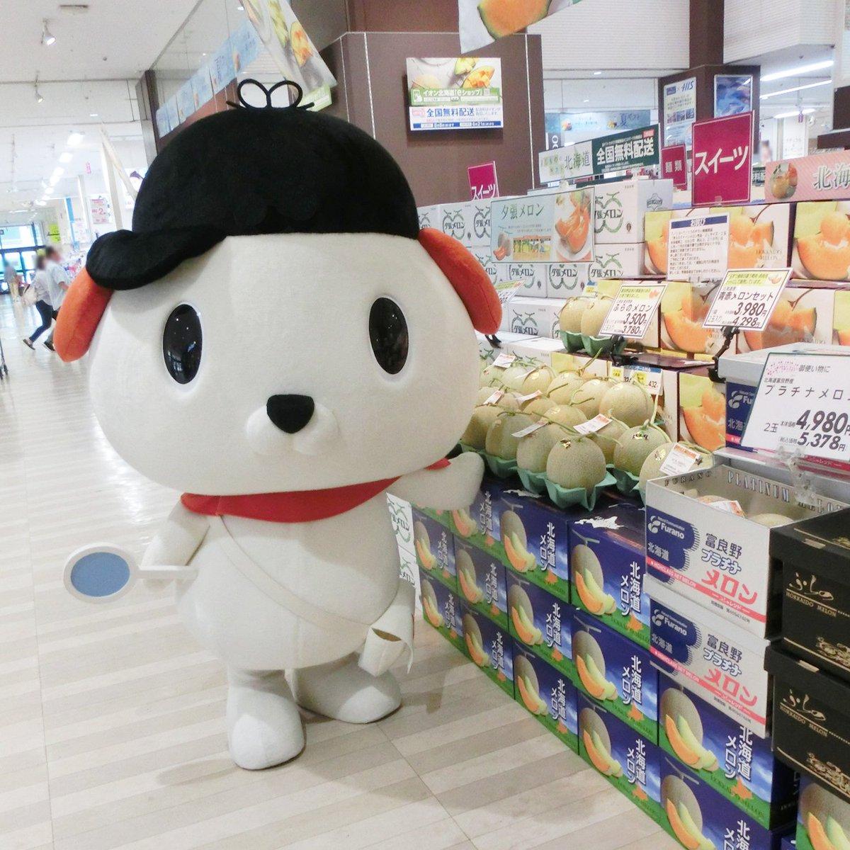 test ツイッターメディア - ☆ #はっ犬ワンドゥ冒険にっき ☆ 7月15日(日)イオン東札幌店に、 #はっ犬ワンドゥ が冒険にいきました! 会いに来てくれたみんな、ありがとうございました★ 北海道といえばメロン!美味しそうなメロンをたくさんはっけんしたみたい☆彡 次回の冒険もお楽しみに♪ #キャンドゥ #100均 https://t.co/BNtGj1qSuj