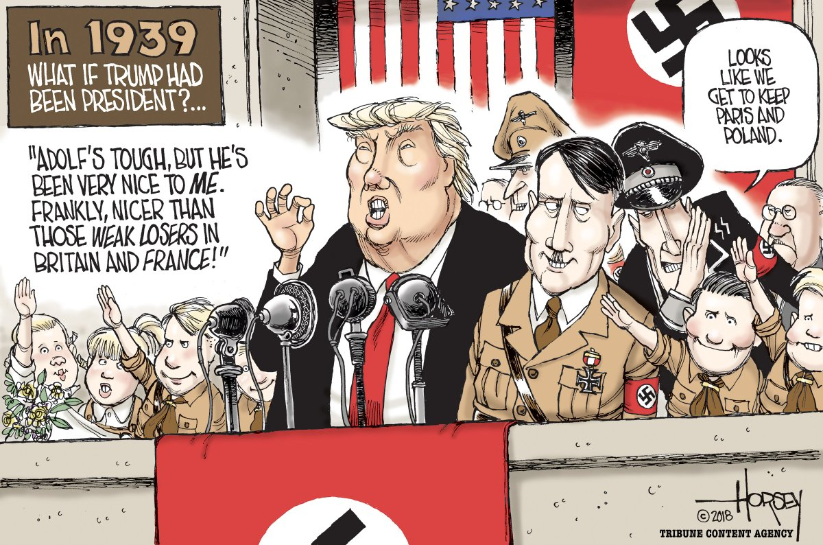 We're oh so lucky that @realDonaldTrump wasn't around in 1939...