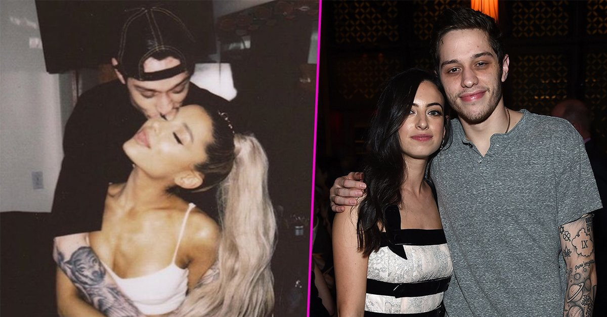 Not so fast. #PeteDavidson sets the record straight on claims that he gave #ArianaGrande and his ex the same cherished necklace. https://t.co/BDf5n75LQ0