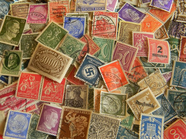 Коллекционирование открытки марки