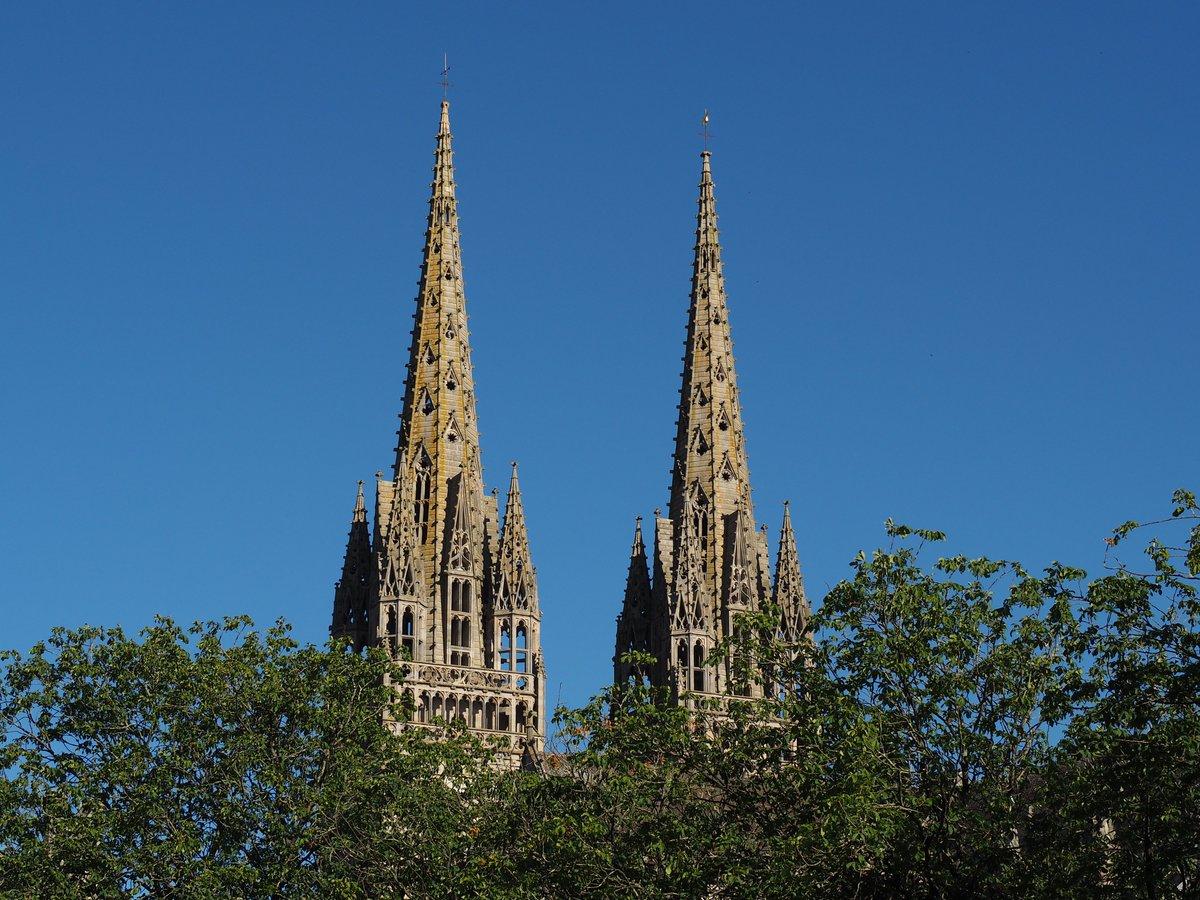 > INCONTOURNABLE < Saviez-vous que la Maison du patrimoine vous propose dorénavant la montée des flèches de la cathédrale Saint-Corentin tout l\