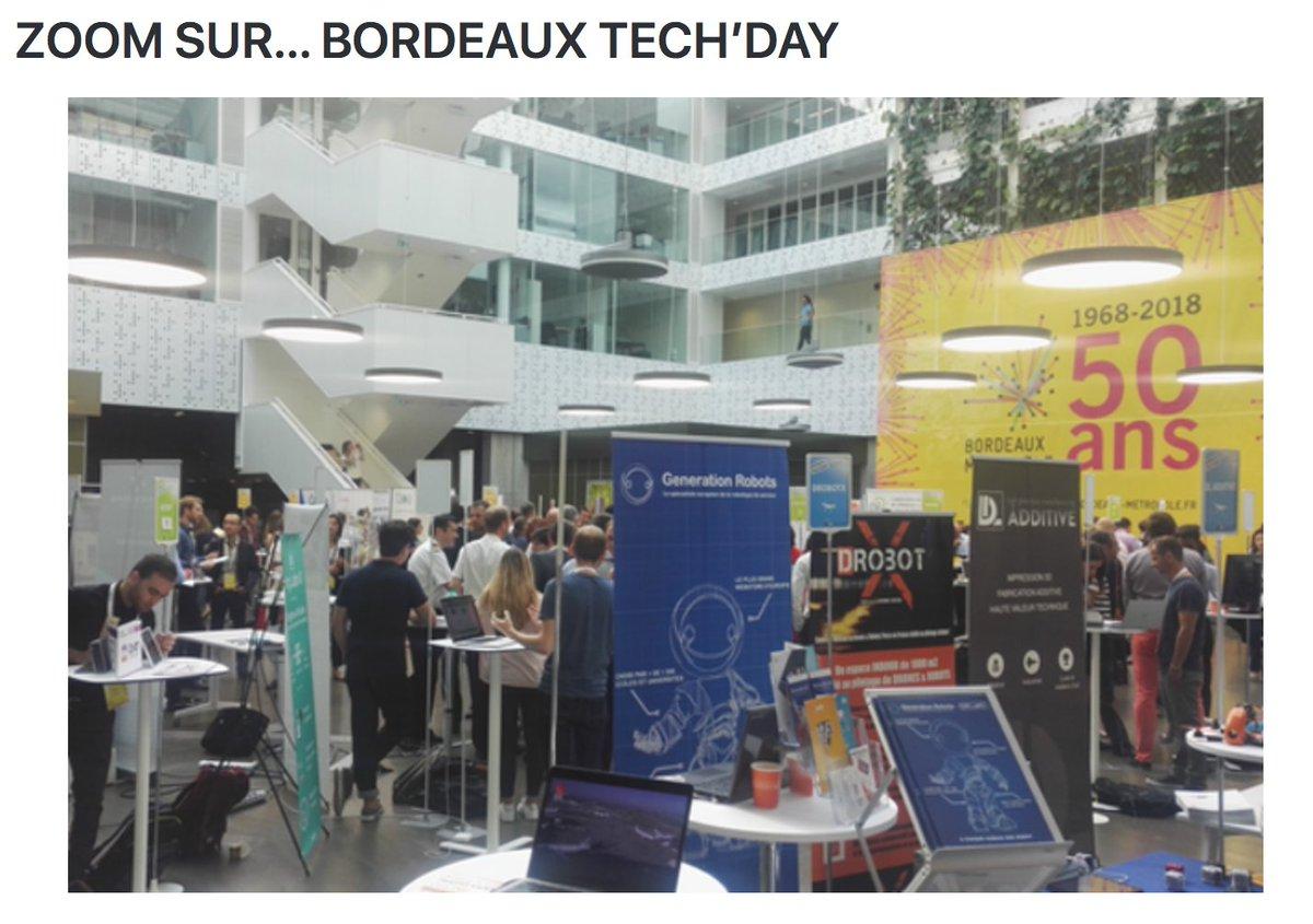 #BordeauxTechDay à l'honneur dans la tribune de @AuroreVinzerich sur @FrenchWebNews : 55 #startup de @Bdx_Technowest pour dessiner la métropole de demain 👍 https://t.co/VpMgXwTLpQ  #Bordeaux @BxMetro2050 @BxMetro