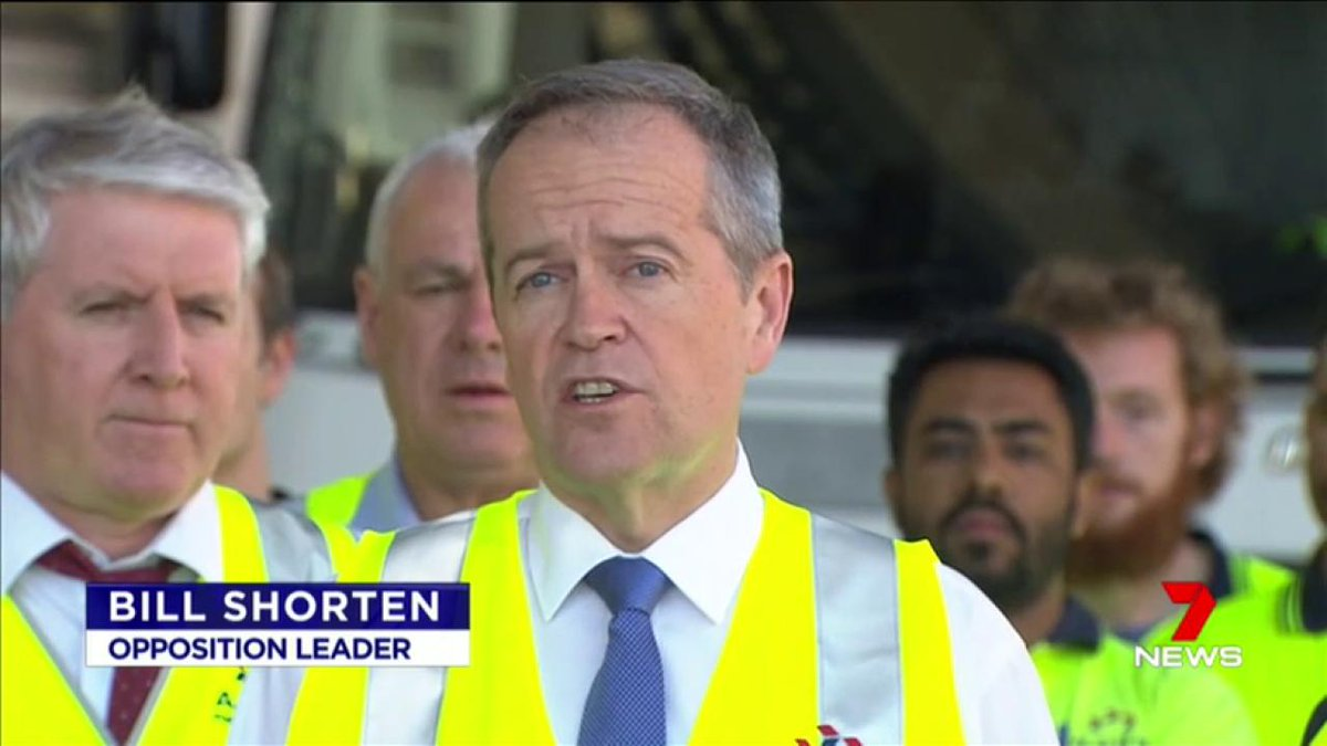 Image for the Tweet beginning: The Labor party appears to
