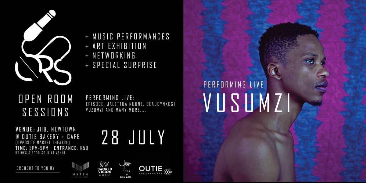 """Meet @Vusumzi92 - Singer / Songwriter from King Williams Town. Having made appearances on tv shows such as Generations, British-drama series """"Call The Midwife"""" (BBC) and his role as """"Sibusiso"""" in last summer's TakeALot Ad campaign. Catch him performing live at #OpenRoomSessions<br>http://pic.twitter.com/u3XustJTwq"""