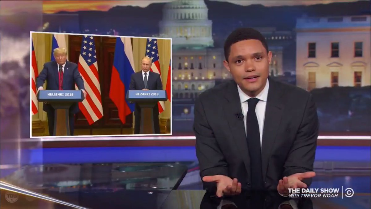 Trump-Putin press conference gets a roasting from late show hosts https://t.co/FIfuvC2jlo