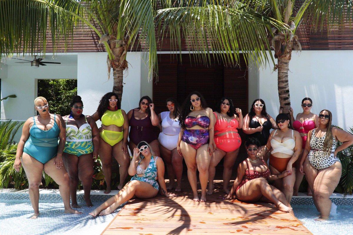 Older black girls pool party
