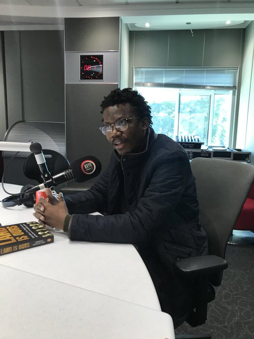 [IN CONVERSATION] with Advocate and author Thembeka Ngcukayitobi taking his book 'The Land is Ours' about South Africa's first Black Lawyers #BreakfastwithDavid Photo