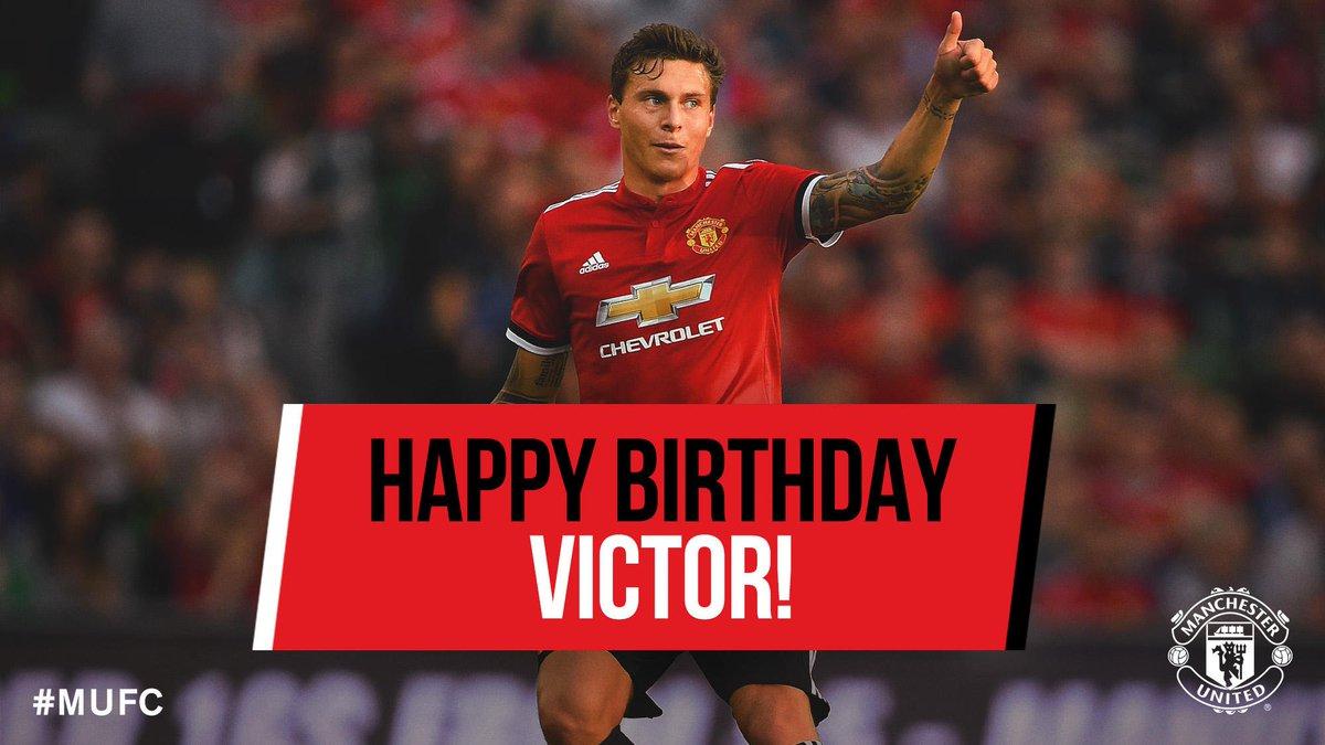 Happy birthday @VLindelof! Have a brilliant day! 🎊🎉