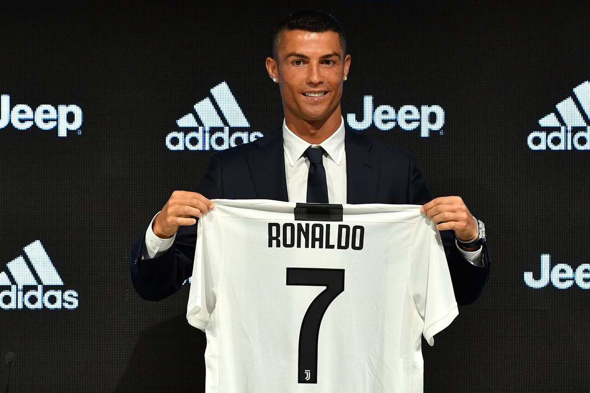 📆 16 July 2018 📆 👑 #CR7DAY 👑  The day 'The Myth' became reality.  Read all about Cristiano Ronaldo's unveiling at Juventus 👉 https://t.co/hgk32rNqYT