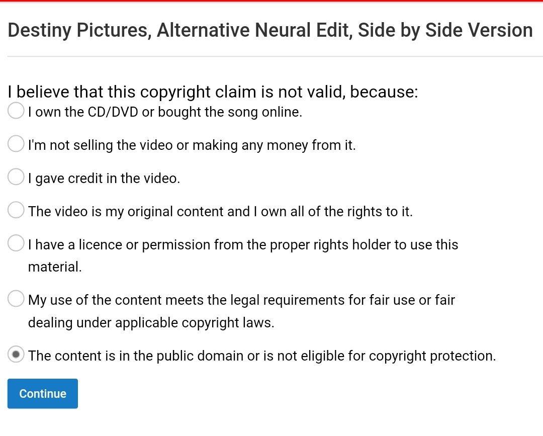 Hmm, should I go for fair use or public domain?