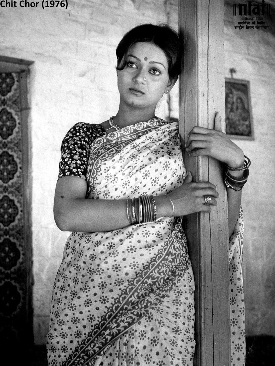 """NFAI on Twitter: """"Acclaimed actress #ZarinaWahab was born #OnThisDay. Along  with #Hindi, she also appeared in some of the prominent films in #Malayalam  #Telugu #Tamil & #Kannada. Seen here in #ChitChor. Her"""