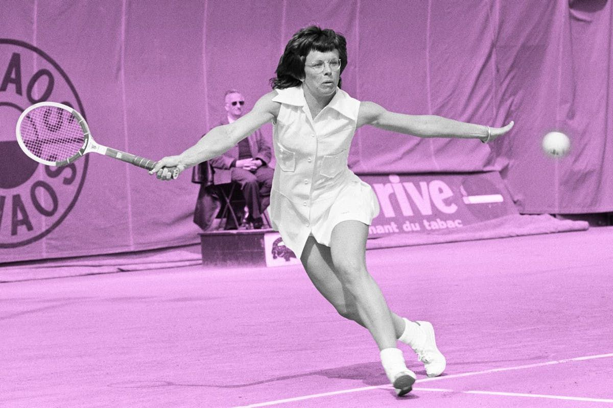 """Billie Jean King on double standards: """"Girls are brought up to be perfect"""" https://t.co/t3Jh46WkTb"""