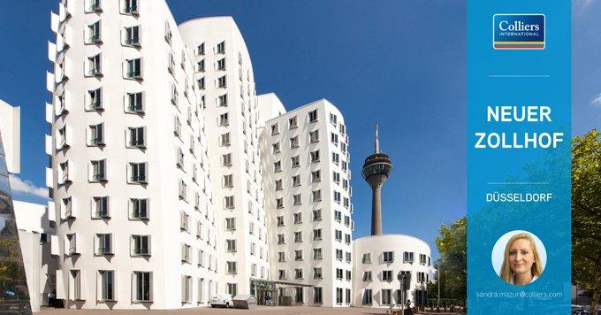 Objekt der Woche: #Düsseldorf<br>Arbeiten Sie in einem der weltbekannten Gebäudevon Frank O. Gehry im Düsseldorfer Medienhafen! Insgesamt sind 2.471 m² flexibel teilbare, hochwertige Bürofläche verfügbar. Alle Informationen zum Objekt gibt&rsquo;s hier:  t.co/1mnptTgxOp