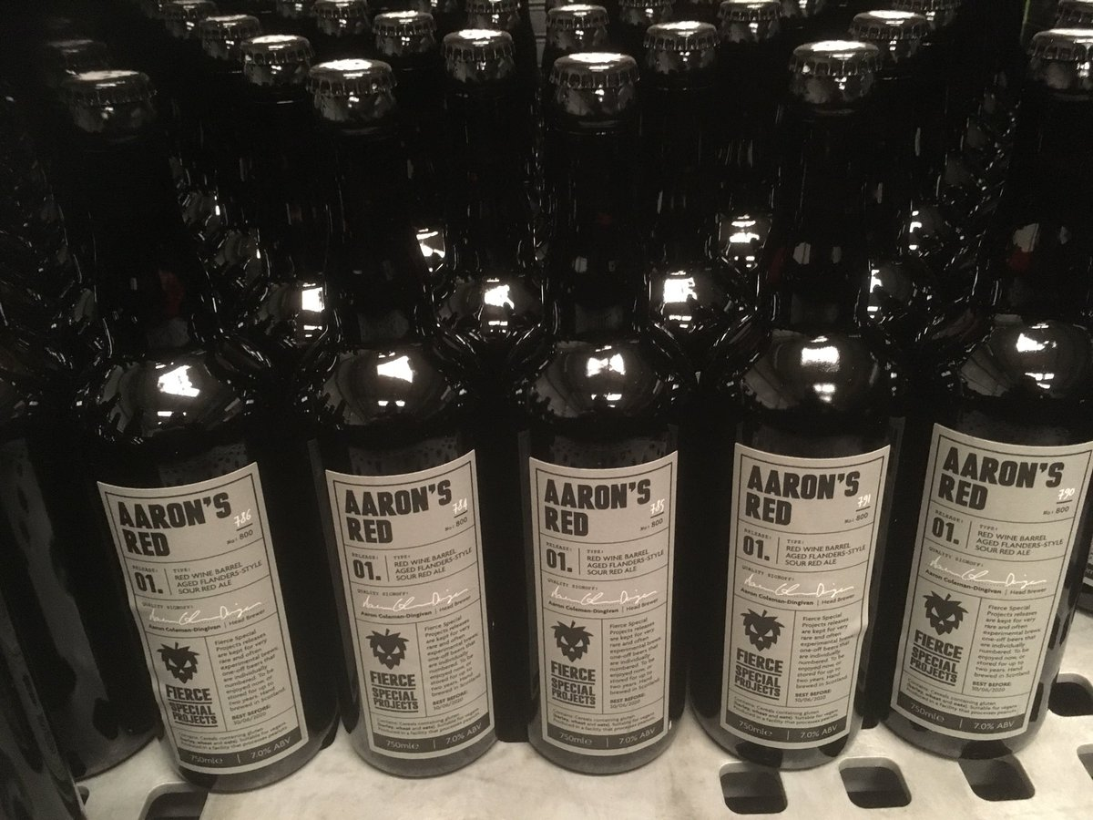 Image for From Wednesday, Aarons Red limited and numbered bottles will be available on our website https://t.co/Do74DC1kXC https://t.co/tGKsXp5EXr