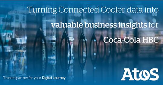 Los refrigeradores inteligentes @CocaCola HBC Connected Cooler permiten a Coca-Cola HBC...