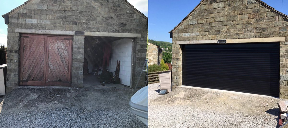 This DSi installation was converted from two single garage doors to this stunning double garage door. Our trade domestic section has been thriving this ... & RCS Doors Limited (@rcsdoors) | Twitter
