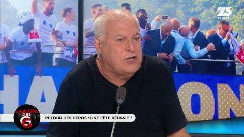 #ChampionsDuMonde Le retour des Bleus et la colère d\