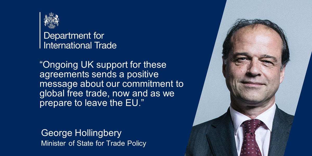 Department For International Trade On Twitter Last Month