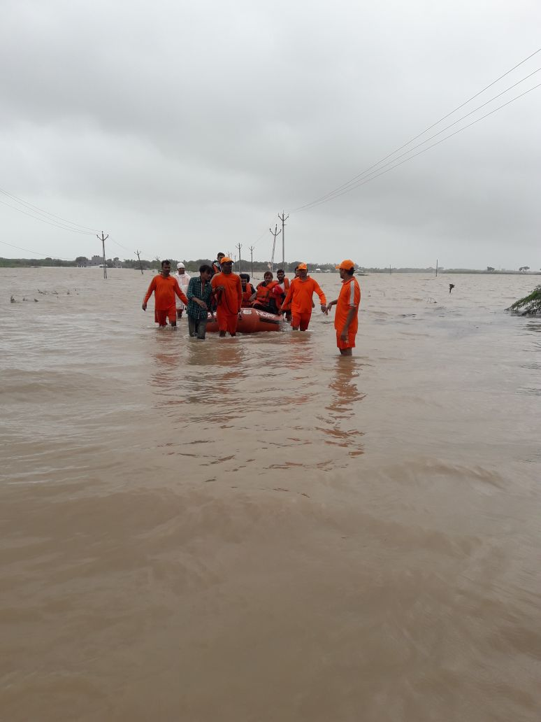Over 3500 shifted, 500 rescued, total rain-related death figure of season reaches 29: Relief Commissioner of Gujarat