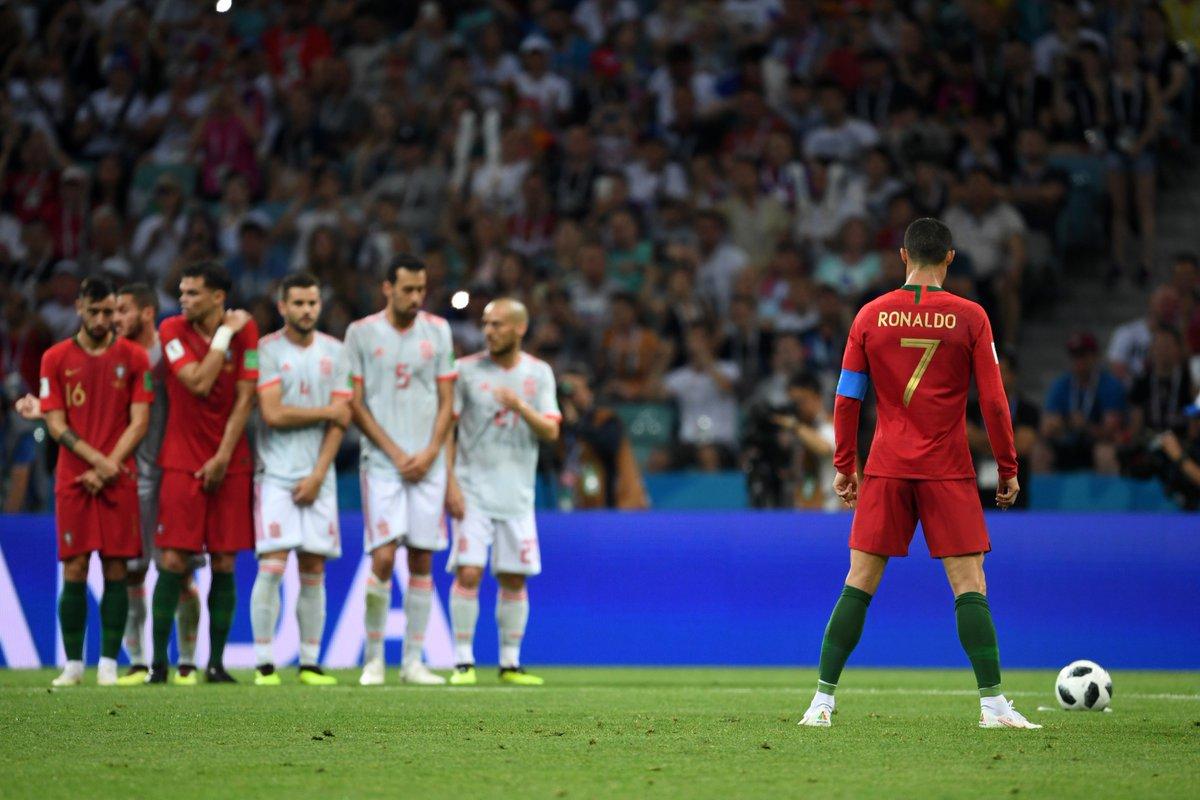 Use an emoji to react to these World Cup moments: 1⃣ Cristiano Ronaldos last-minute free-kick v Spain 2⃣ THAT Toni Kroos stunner v Sweden 3⃣ Mario Mandžukićs semi-final winner v England 4⃣Kylian Mbappés performance v Argentina #WorldEmojiDay