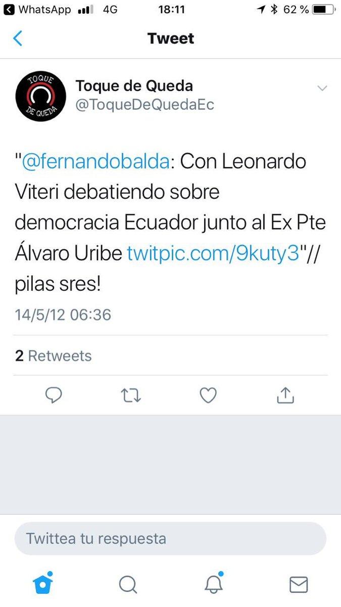 """Como todos los mitómanos, Balda se considera el centro de atención del presidente, y se pregunta cómo se sabía de la reunión de opositores con Uribe en Colombia, """"olvidando"""" que era de conocimiento público, porque él mismo se encargó de informarlo en redes, con fotos incluidas."""