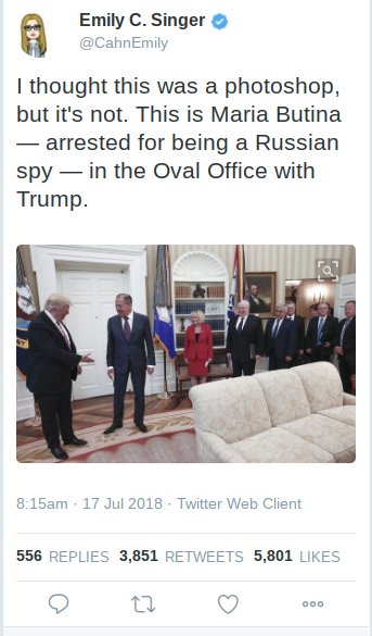 Guys, I know this tweet might have been fake news, but through enhanced imaging techniques, I managed to isolate the actual spy in the Oval.