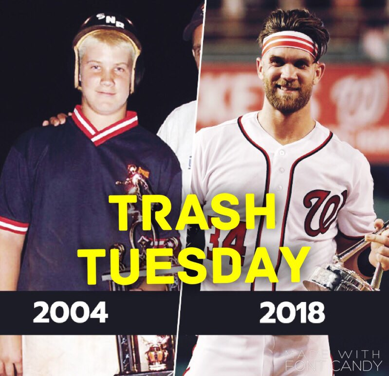 It's a Trash Tuesday! Harper proves there's hope for Mraz to turn into a thin, athletic, stud after all. Let me know what you're trashing. I'll read them throughout the show.  https://t.co/aG5OFDdczo SiriusXM 206