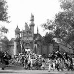 Image for the Tweet beginning: Today in 1955: Disneyland opens
