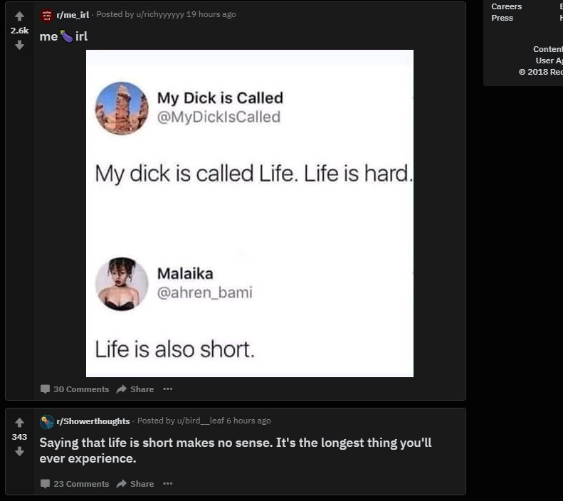 You call that a dick