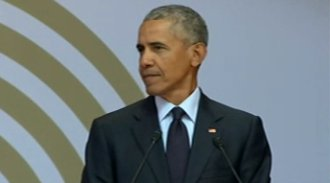 JUST IN: Former President Obama in high-profile speech calls today's times `strange and uncertain'