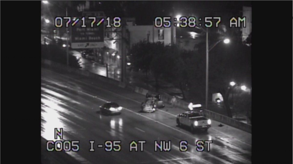 #CRASH: watch for a crash on i-95 NB at NW 6th St @nbc6<br>http://pic.twitter.com/nTKIEPcKlB