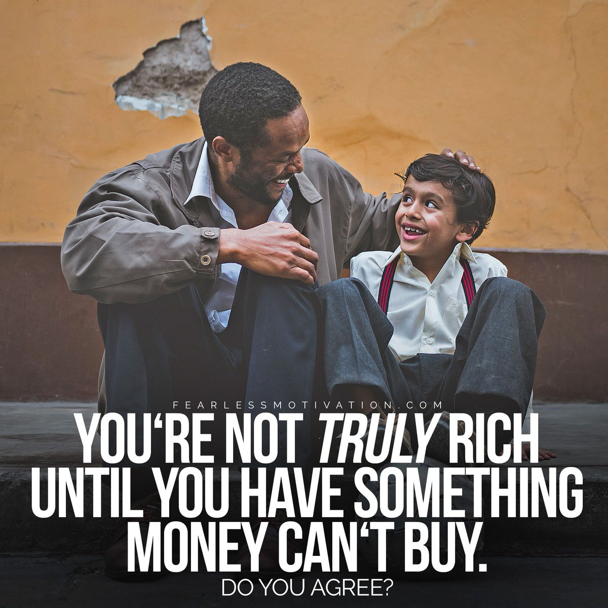 Do you agree? A rich bank account doesnt make you rich. A rich HEART makes you rich.